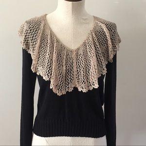 Vintage Silk Knit Sweater